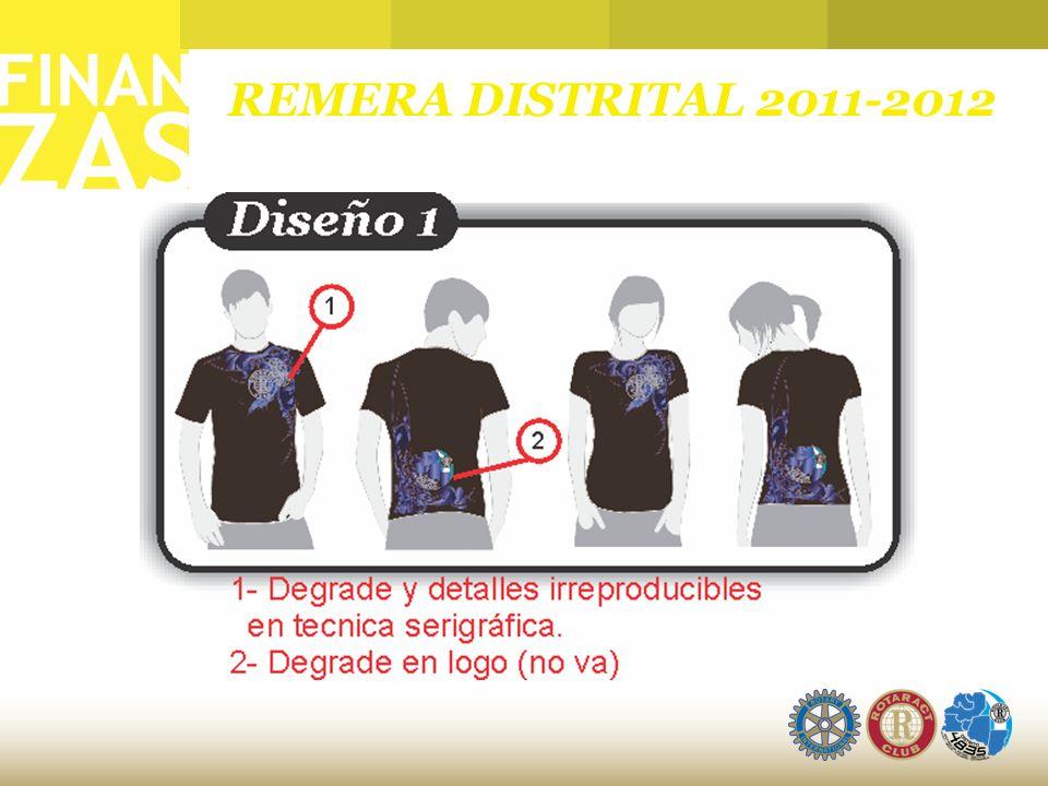 REMERA DISTRITAL 2011-2012