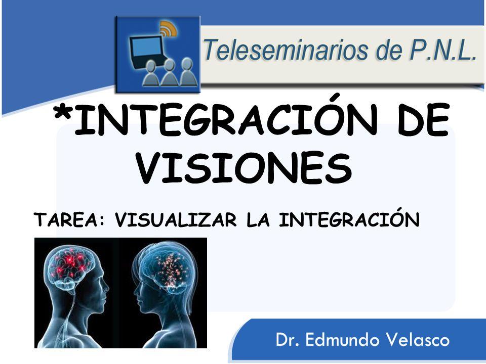 *INTEGRACIÓN DE VISIONES