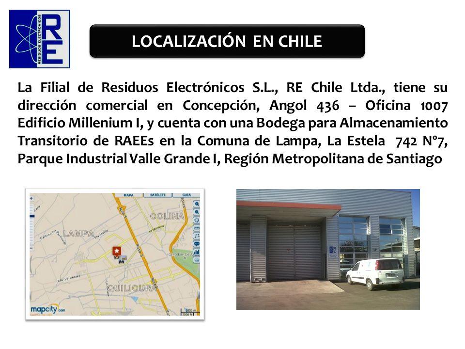LOCALIZACIÓN EN CHILE