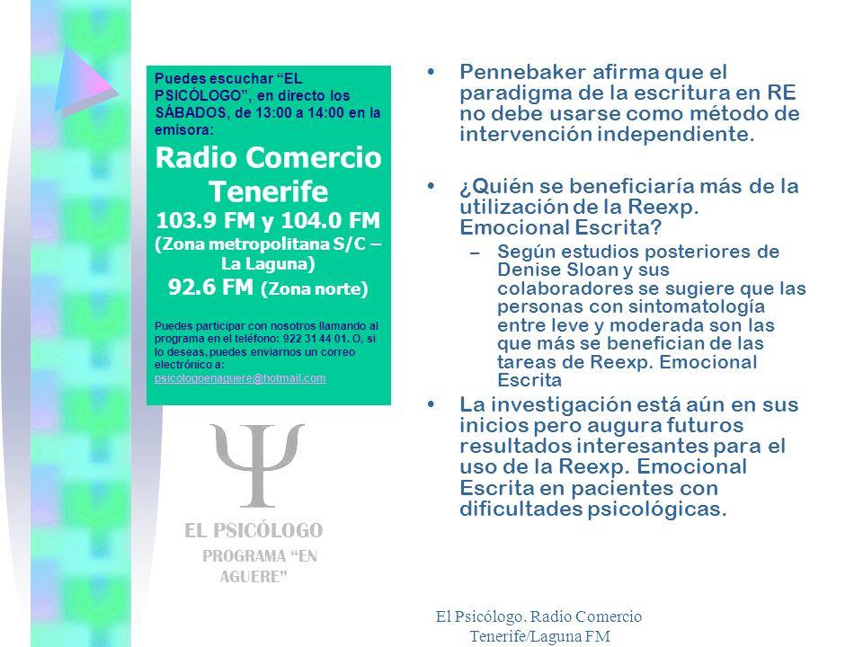 Radio Comercio Tenerife (Zona metropolitana S/C – La Laguna)
