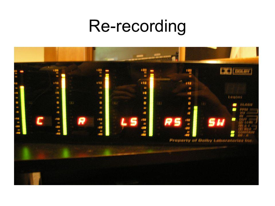 Re-recording