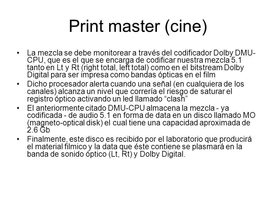 Print master (cine)