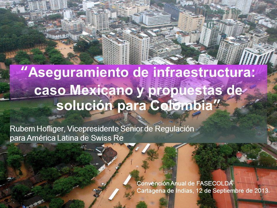 Aseguramiento de infraestructura: caso Mexicano y propuestas de solución para Colombia