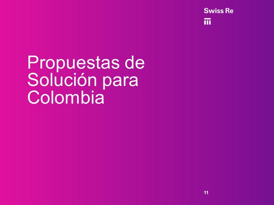 Propuestas de Solución para Colombia
