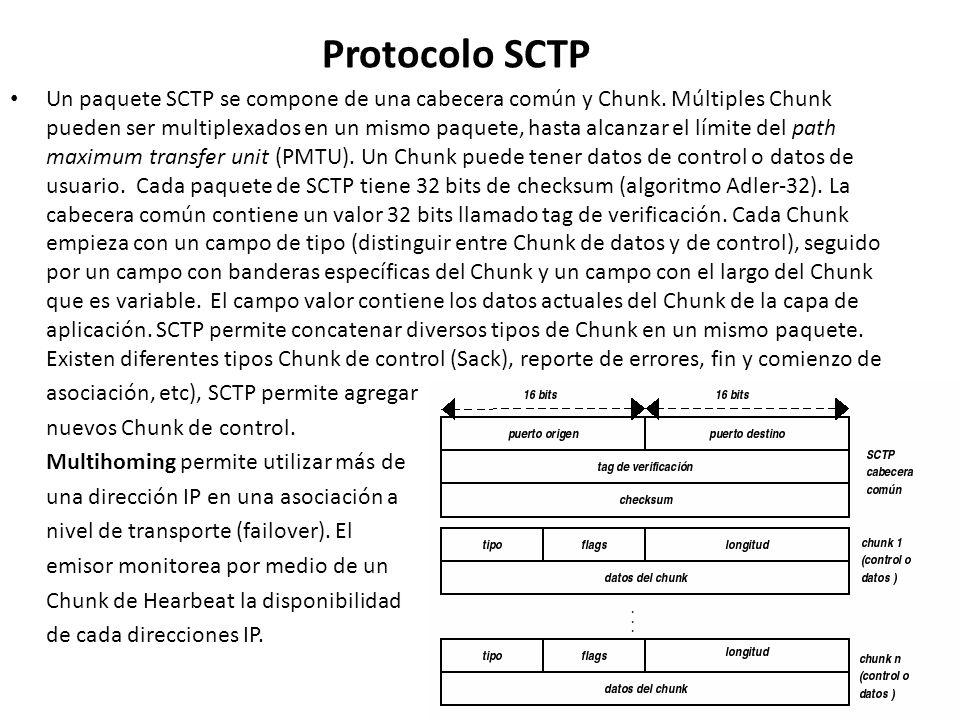 Protocolo SCTP