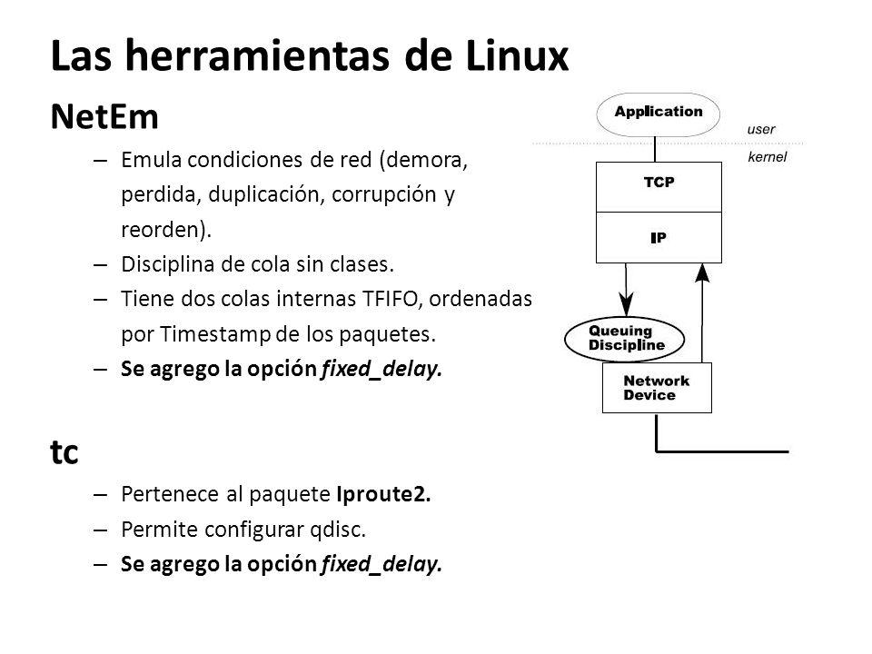 Las herramientas de Linux