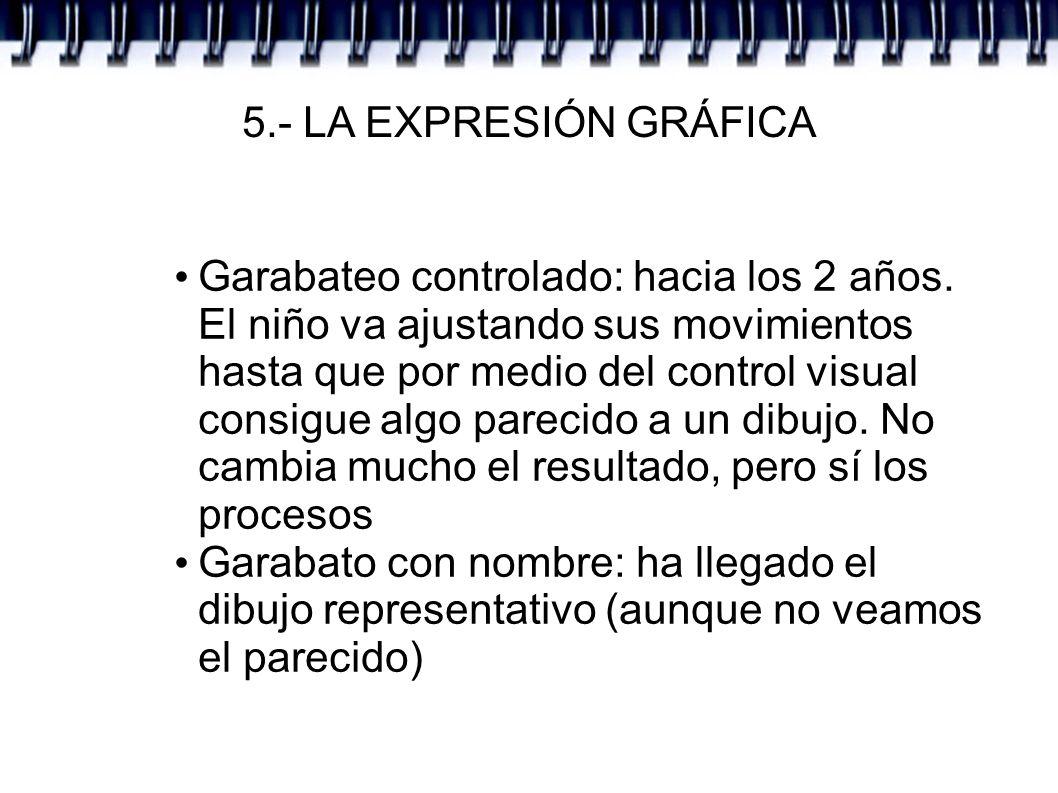 5.- LA EXPRESIÓN GRÁFICA