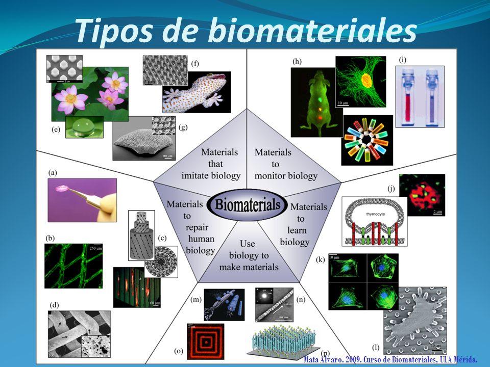 Tipos de biomateriales