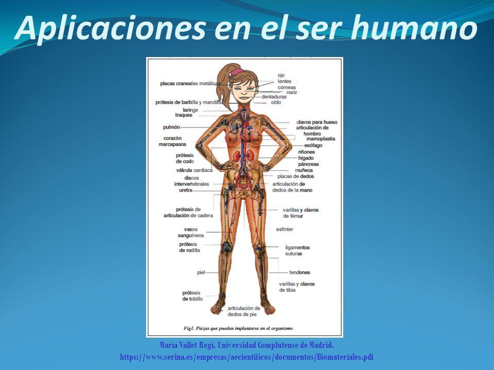 Aplicaciones en el ser humano