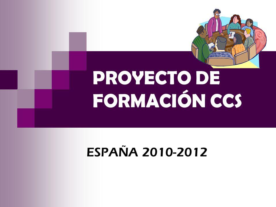 PROYECTO DE FORMACIÓN CCS