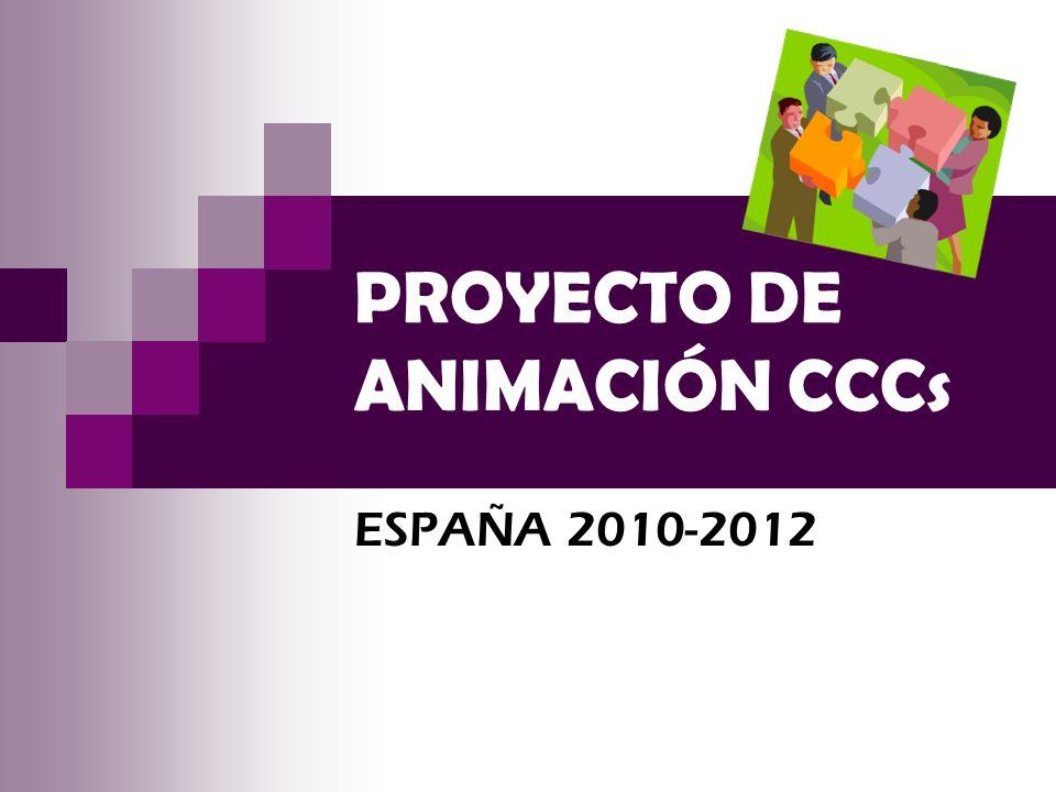 PROYECTO DE ANIMACIÓN CCCs