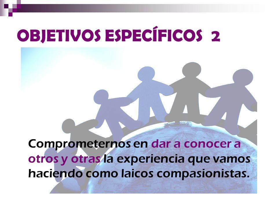 OBJETIVOS ESPECÍFICOS 2
