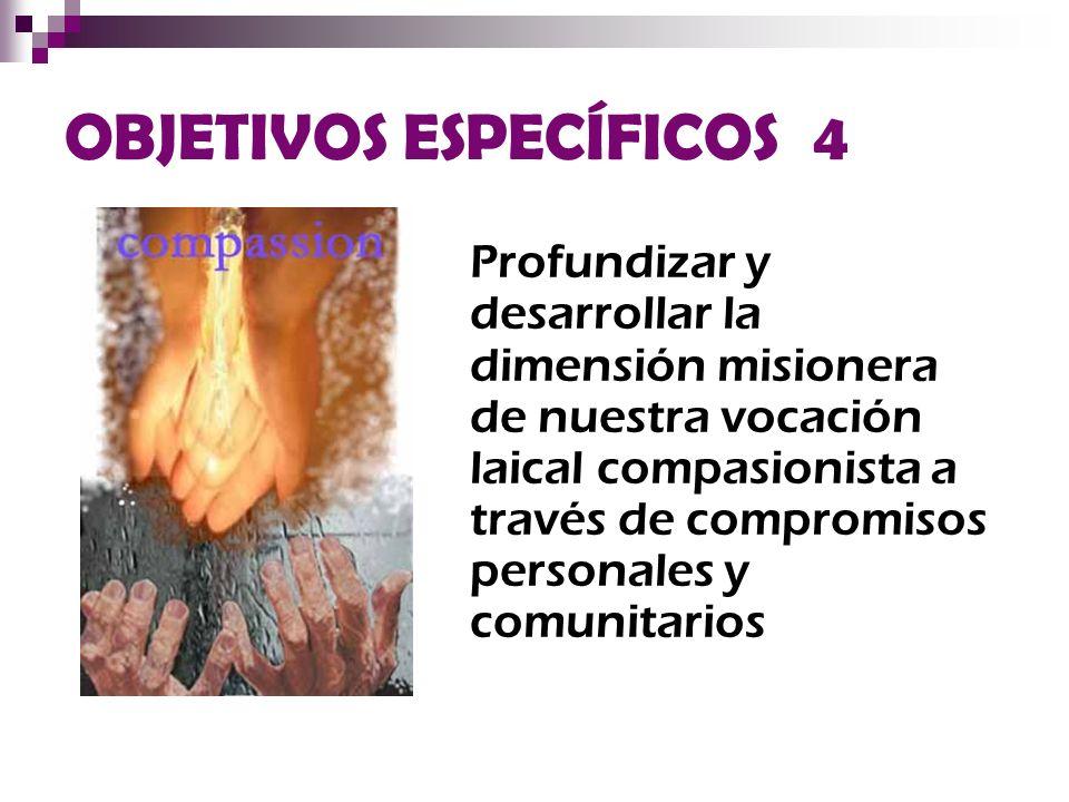 OBJETIVOS ESPECÍFICOS 4