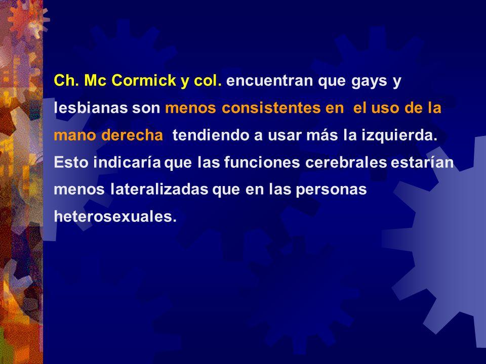 Ch.Mc Cormick y col.
