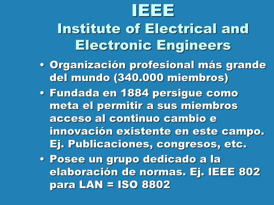 IEEE Institute of Electrical and Electronic Engineers