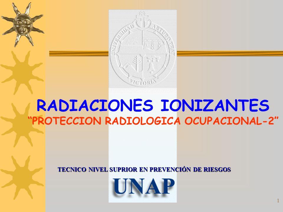 RADIACIONES IONIZANTES PROTECCION RADIOLOGICA OCUPACIONAL-2