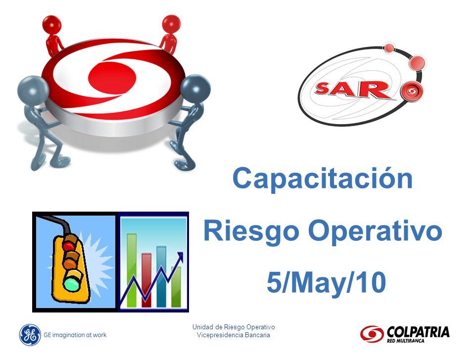 Capacitación Riesgo Operativo 5/May/10