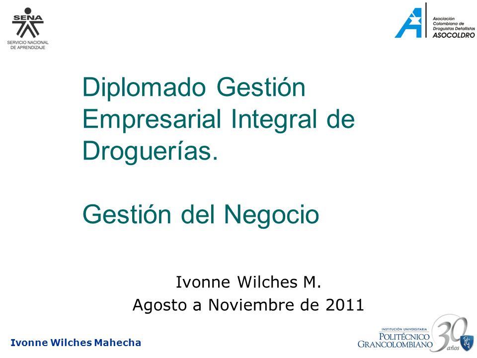 Ivonne Wilches M. Agosto a Noviembre de 2011