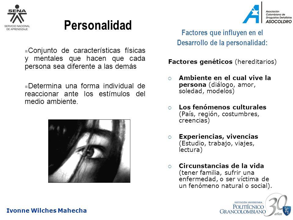 Factores que influyen en el Desarrollo de la personalidad: