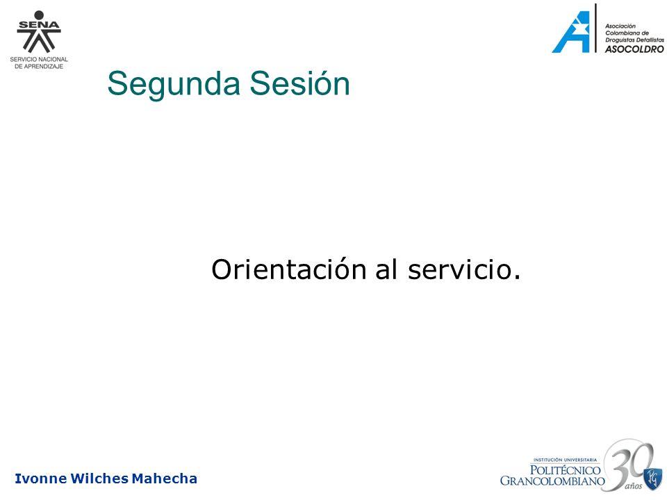 Orientación al servicio.