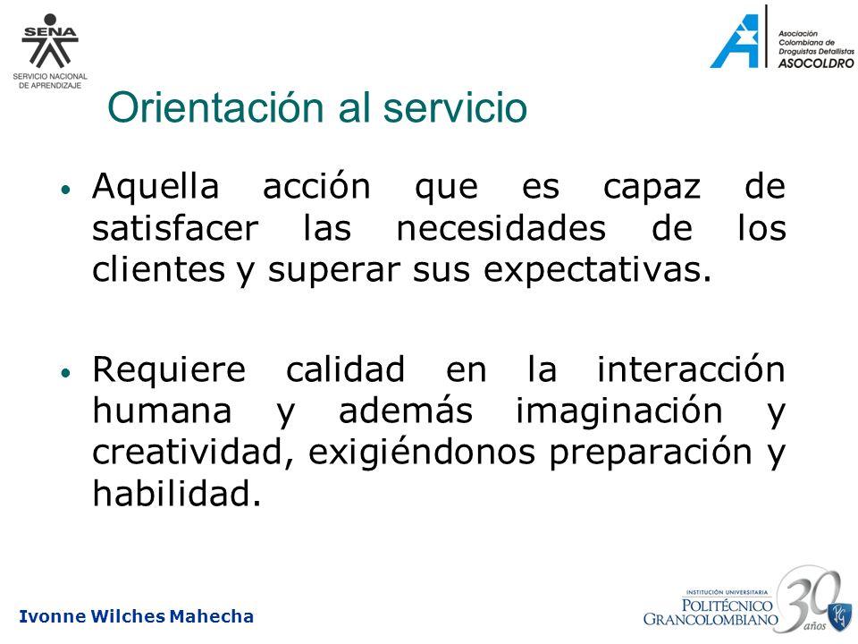 Orientación al servicio