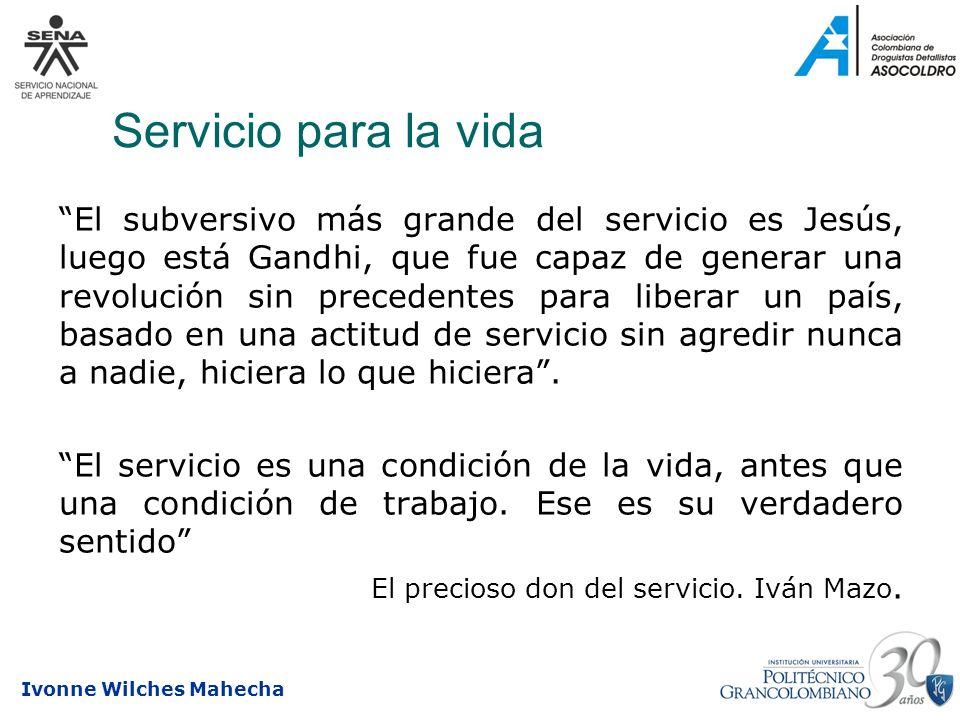 Servicio para la vida