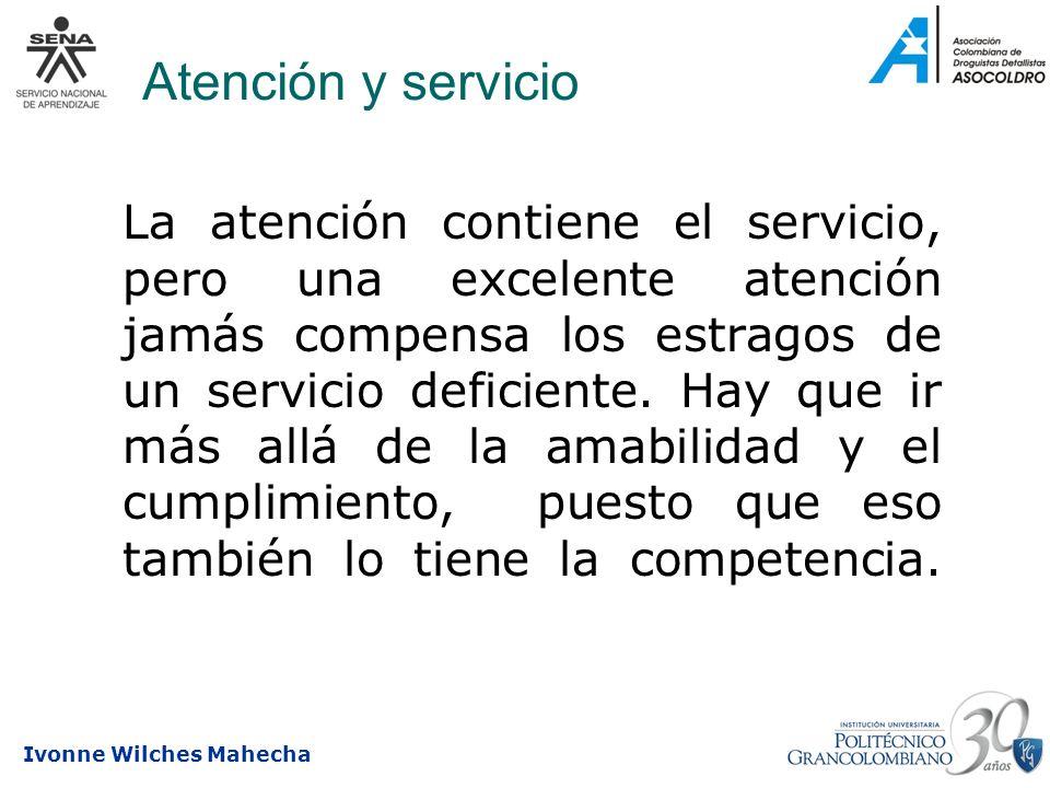 Atención y servicio