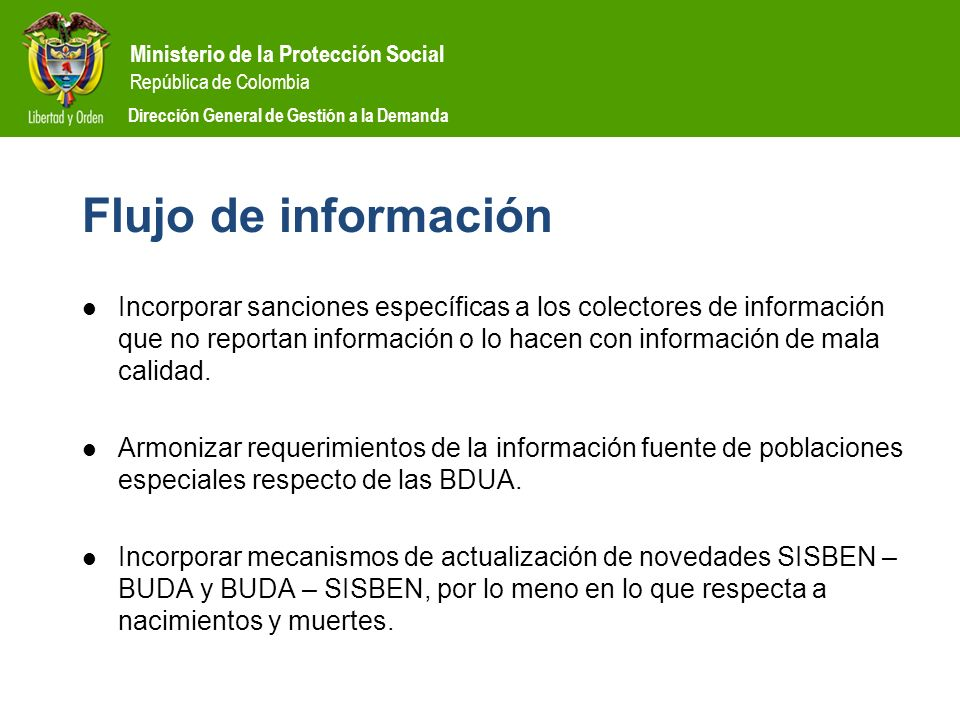 Flujo de información