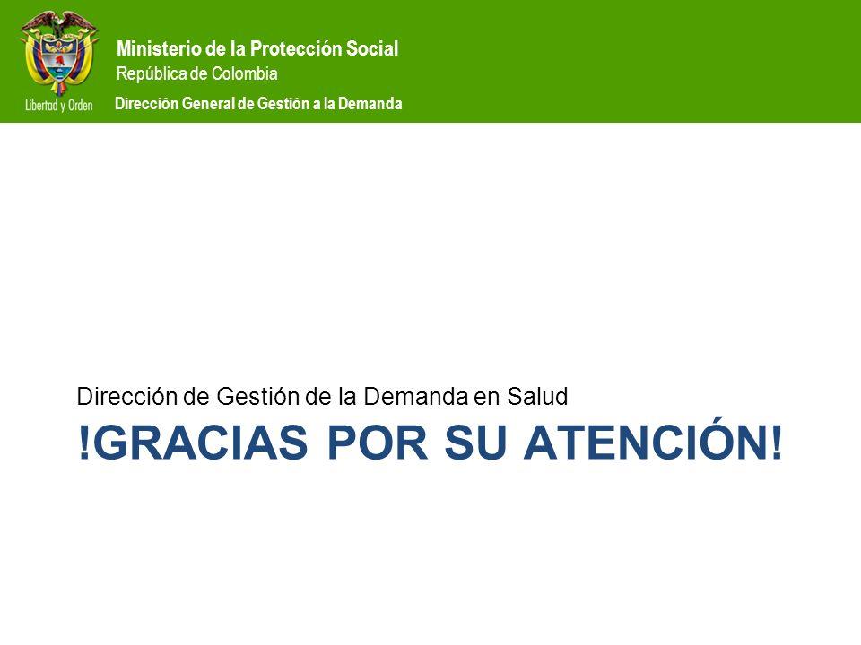 !Gracias por su atención!