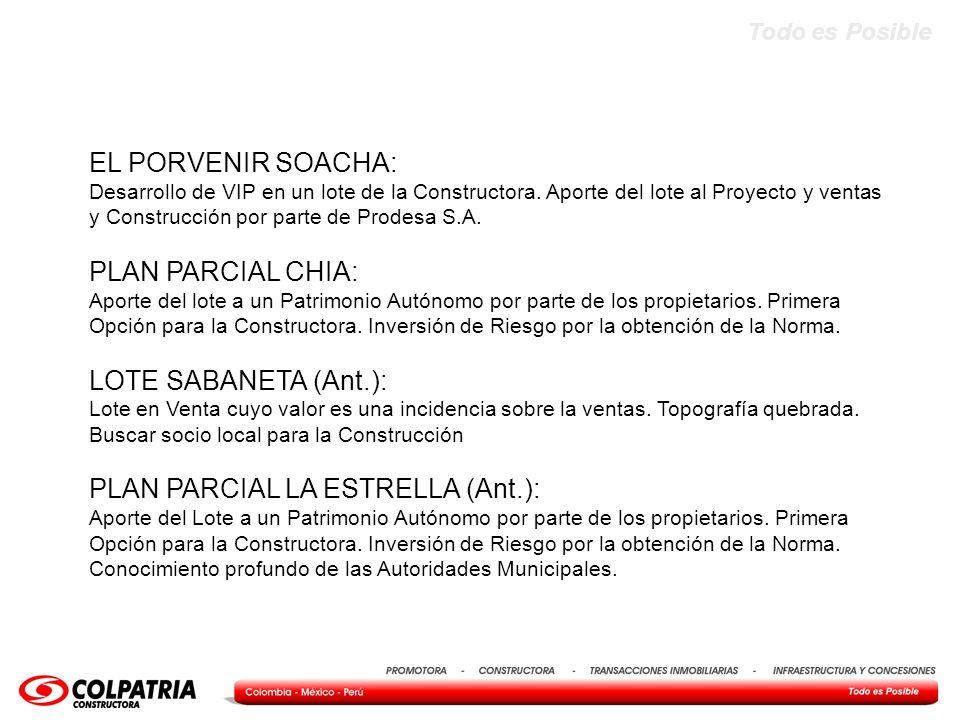 PLAN PARCIAL LA ESTRELLA (Ant.):