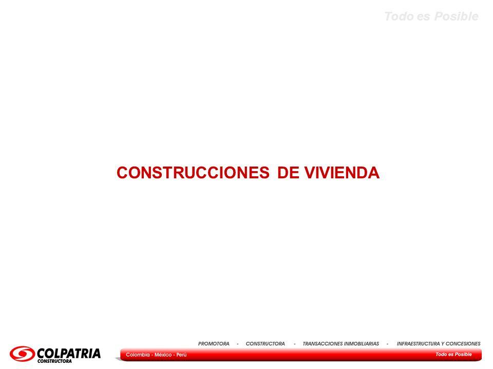 CONSTRUCCIONES DE VIVIENDA