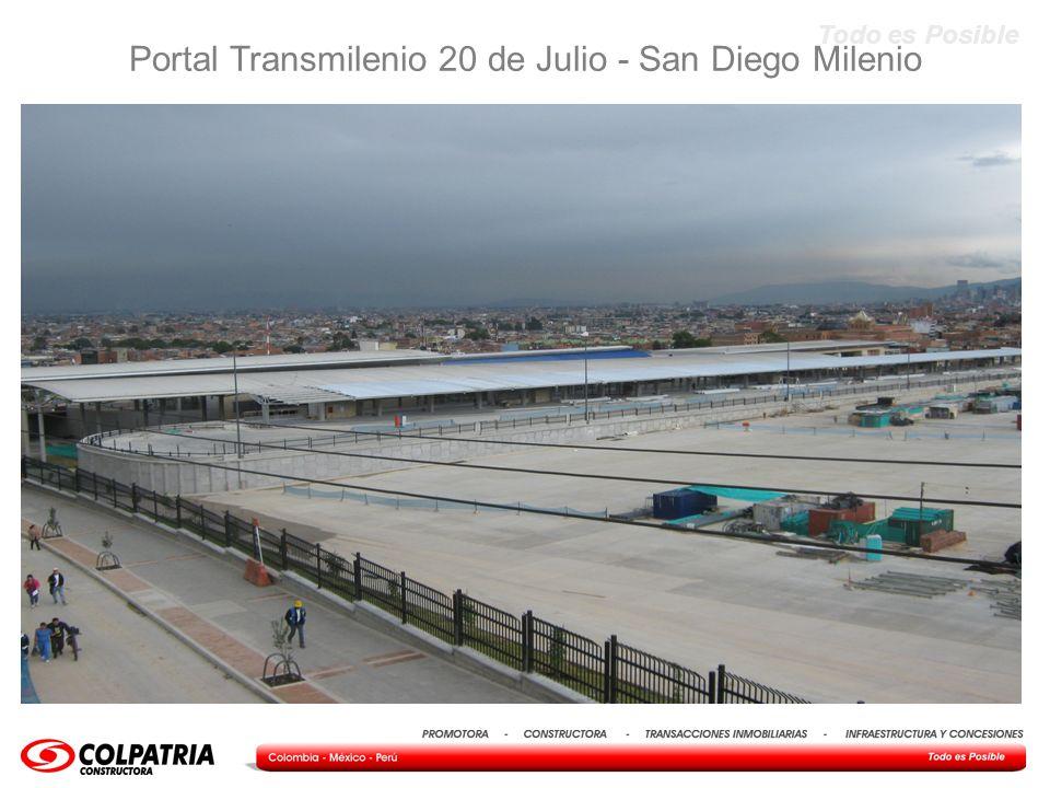 Portal Transmilenio 20 de Julio - San Diego Milenio