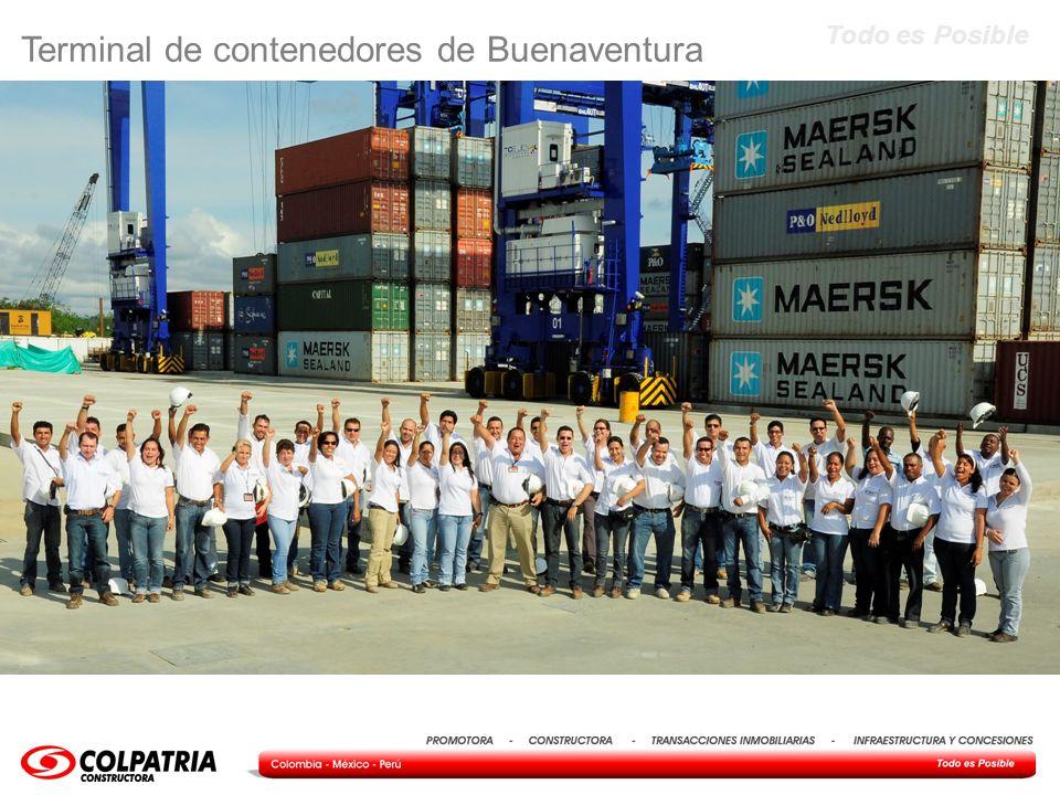 Terminal de contenedores de Buenaventura