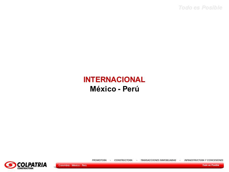INTERNACIONAL México - Perú