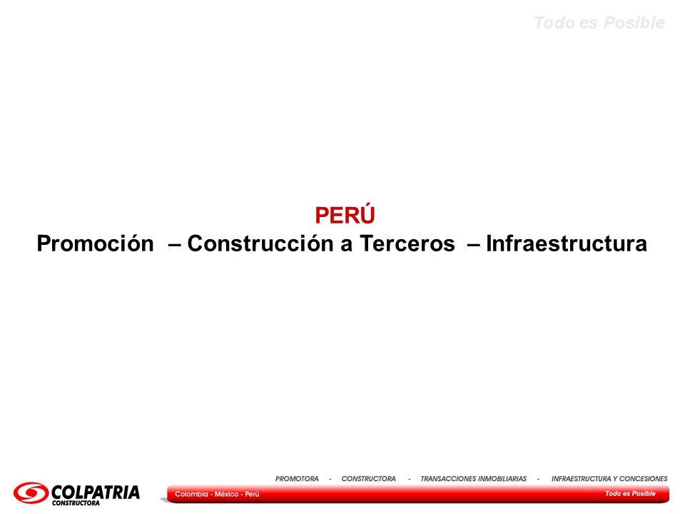 Promoción – Construcción a Terceros – Infraestructura