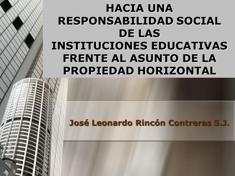 José Leonardo Rincón Contreras S.J.