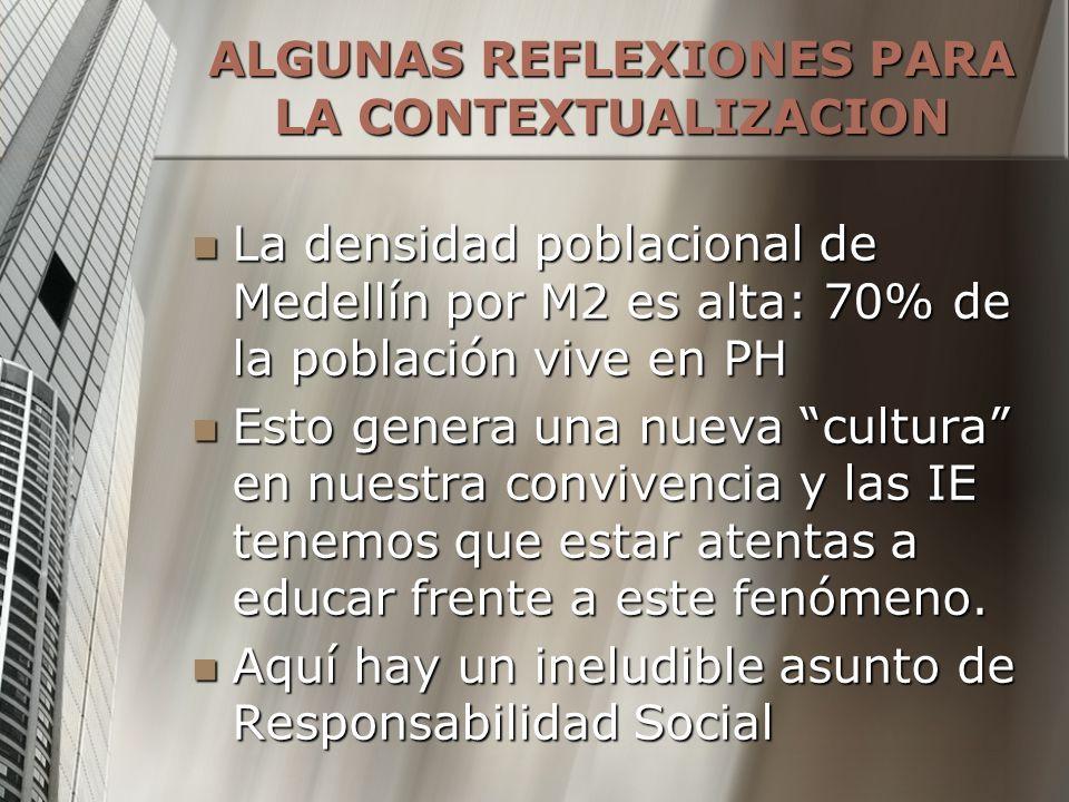ALGUNAS REFLEXIONES PARA LA CONTEXTUALIZACION