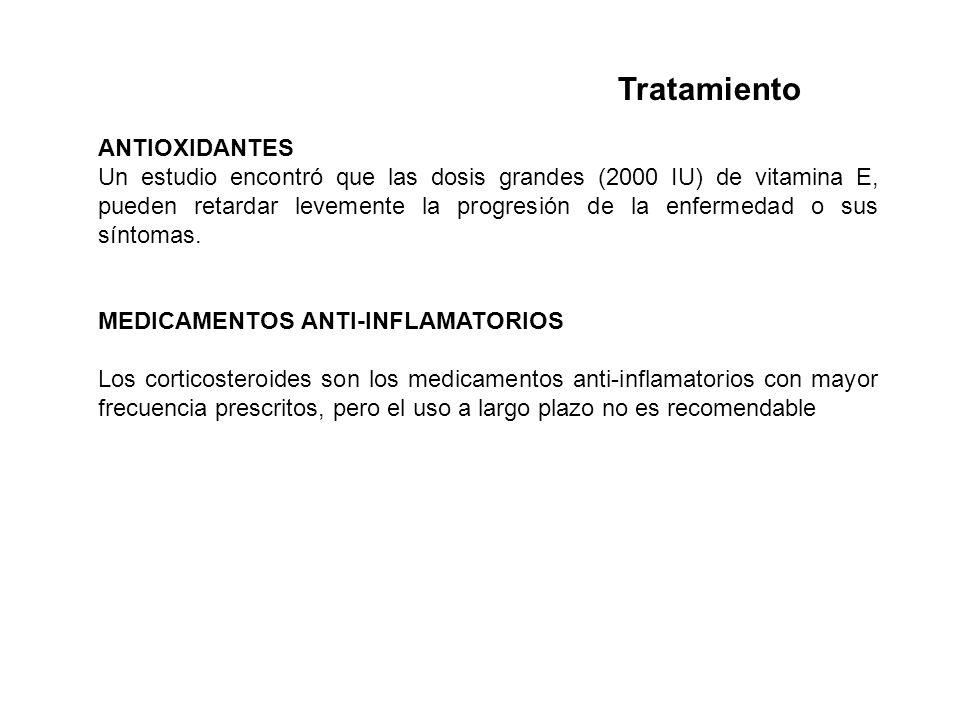 Tratamiento ANTIOXIDANTES