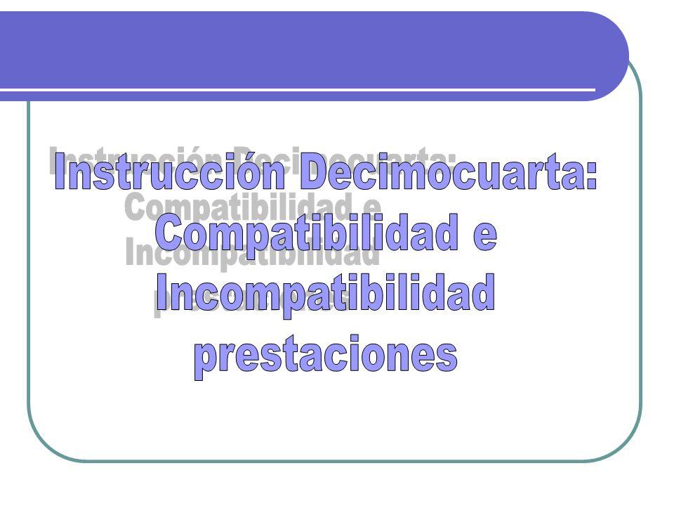 Instrucción Decimocuarta: