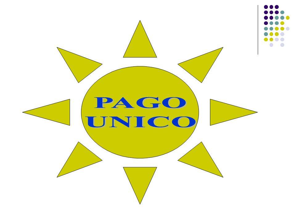 PAGO UNICO