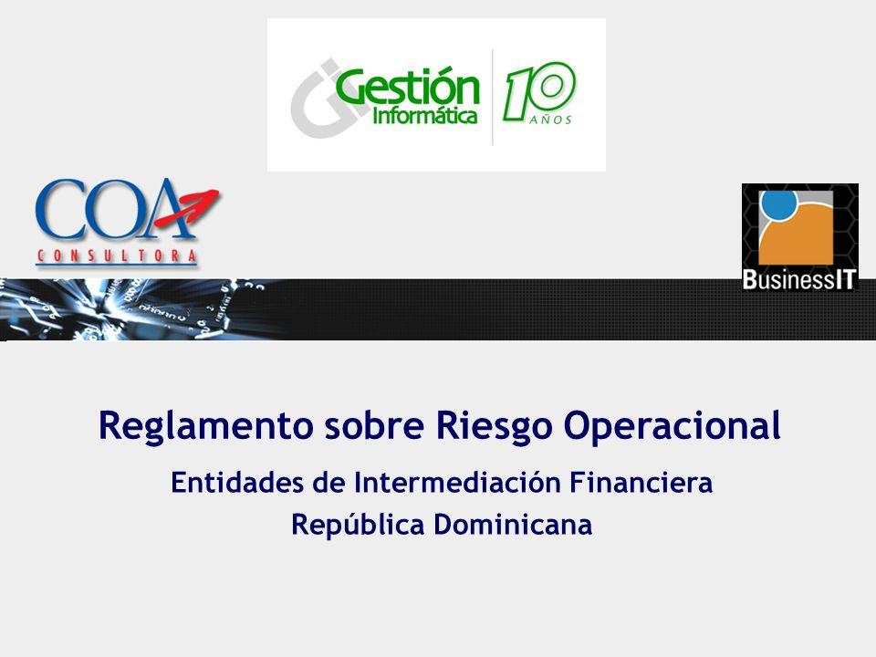 Entidades de Intermediación Financiera