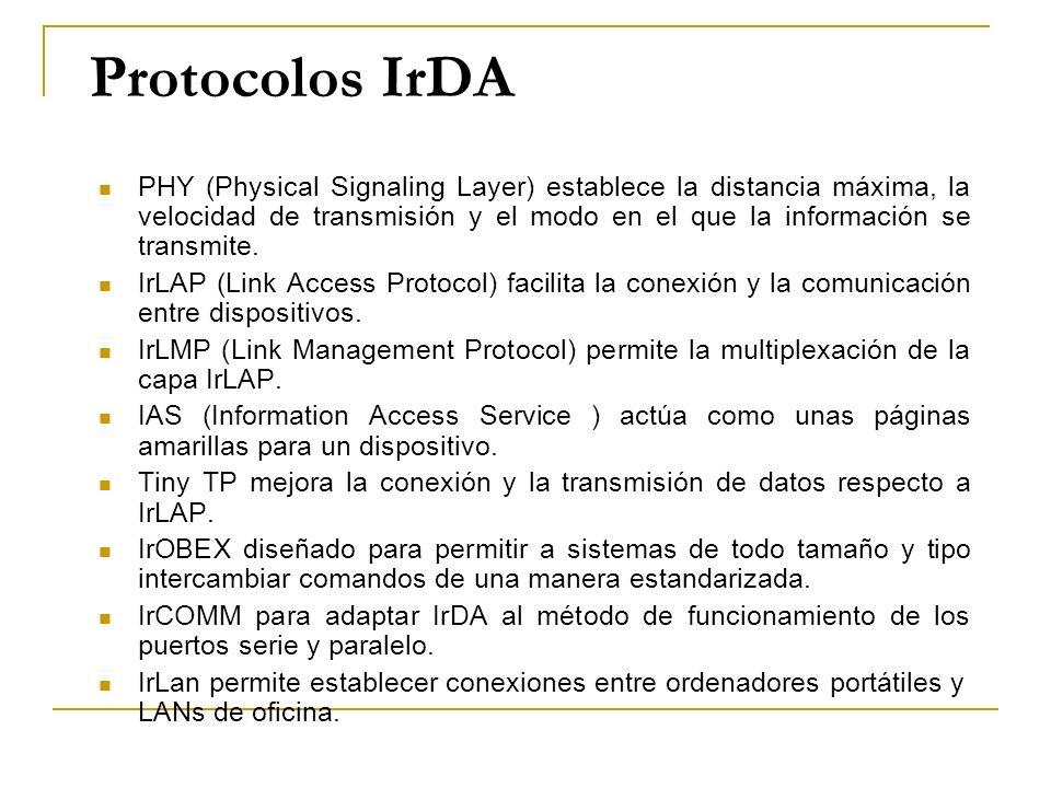 Protocolos IrDA