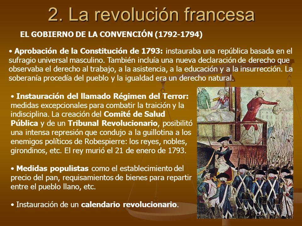 2. La revolución francesa