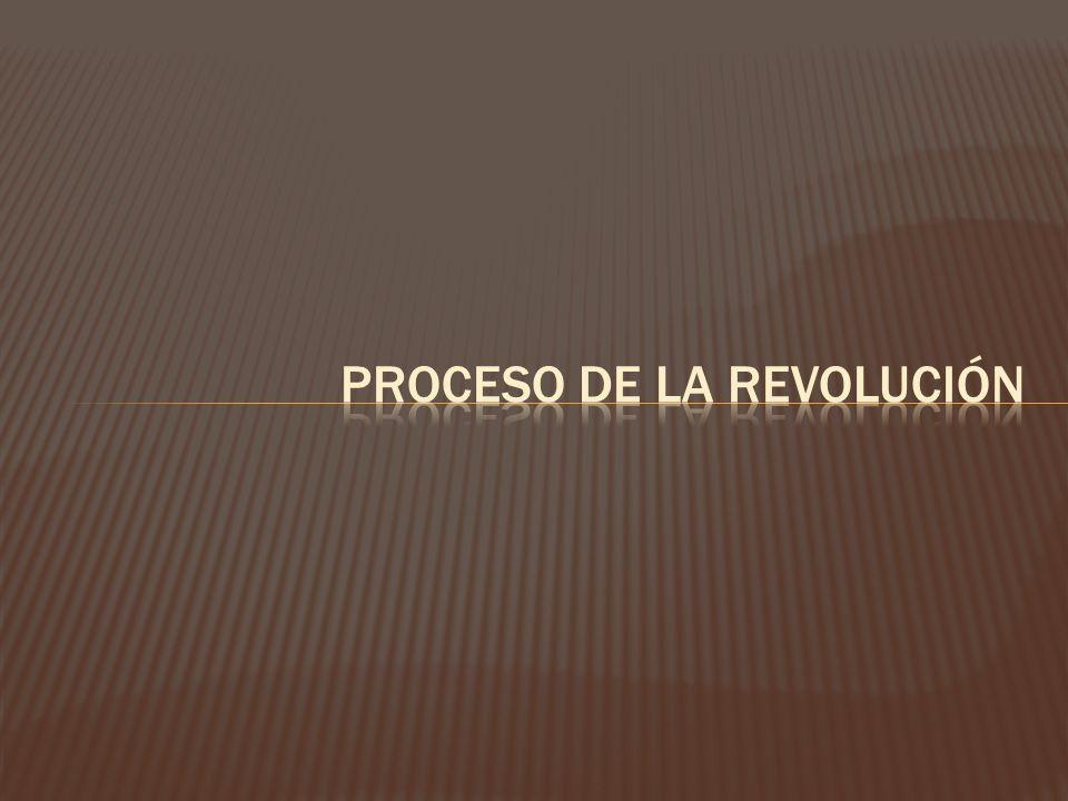 Proceso de la revolución