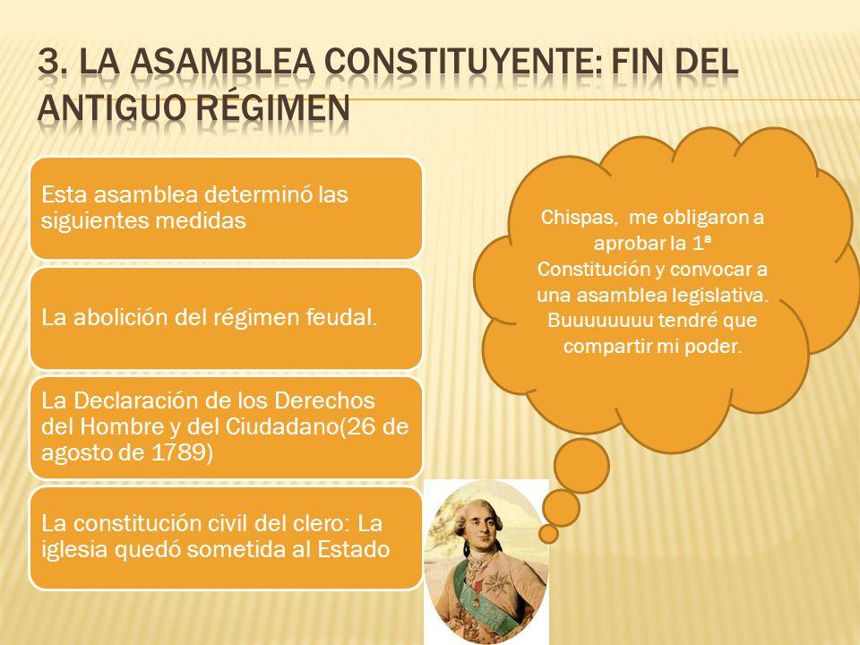 3. LA ASAMBLEA CONSTITUYENTE: FIN DEL ANTIGUO RÉGIMEN