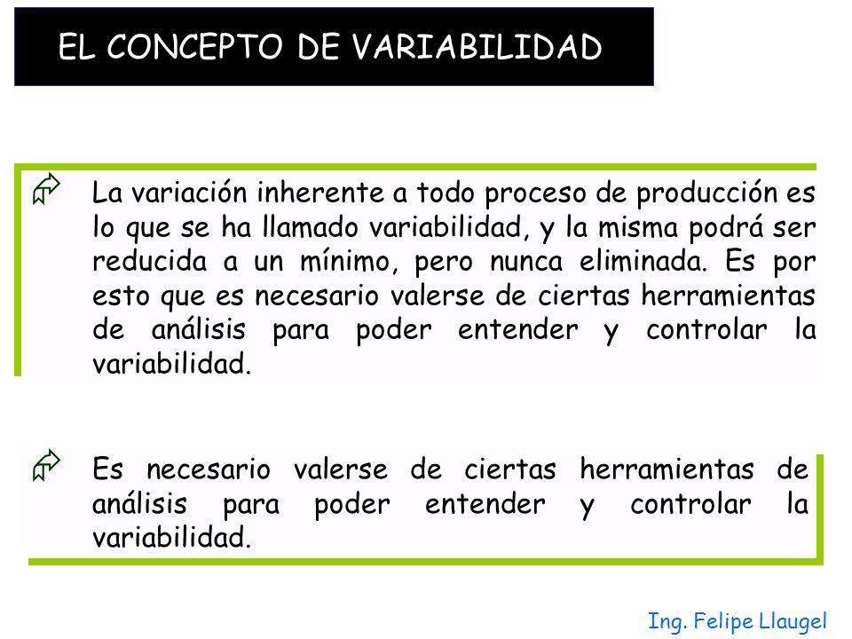 EL CONCEPTO DE VARIABILIDAD