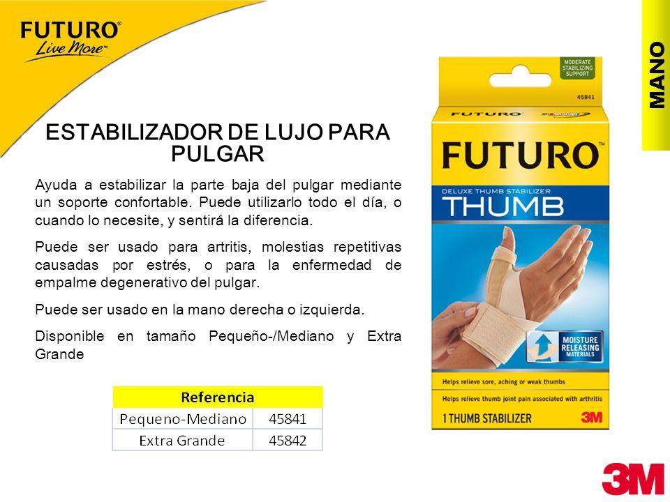 ESTABILIZADOR DE LUJO PARA PULGAR