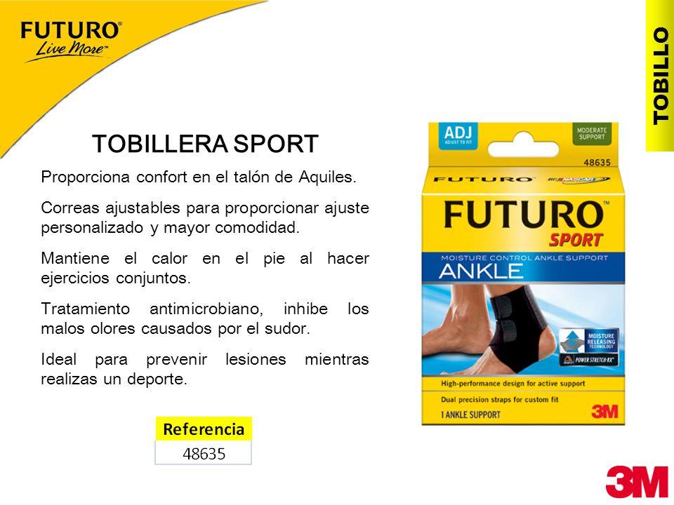 TOBILLERA SPORT TOBILLO Proporciona confort en el talón de Aquiles.