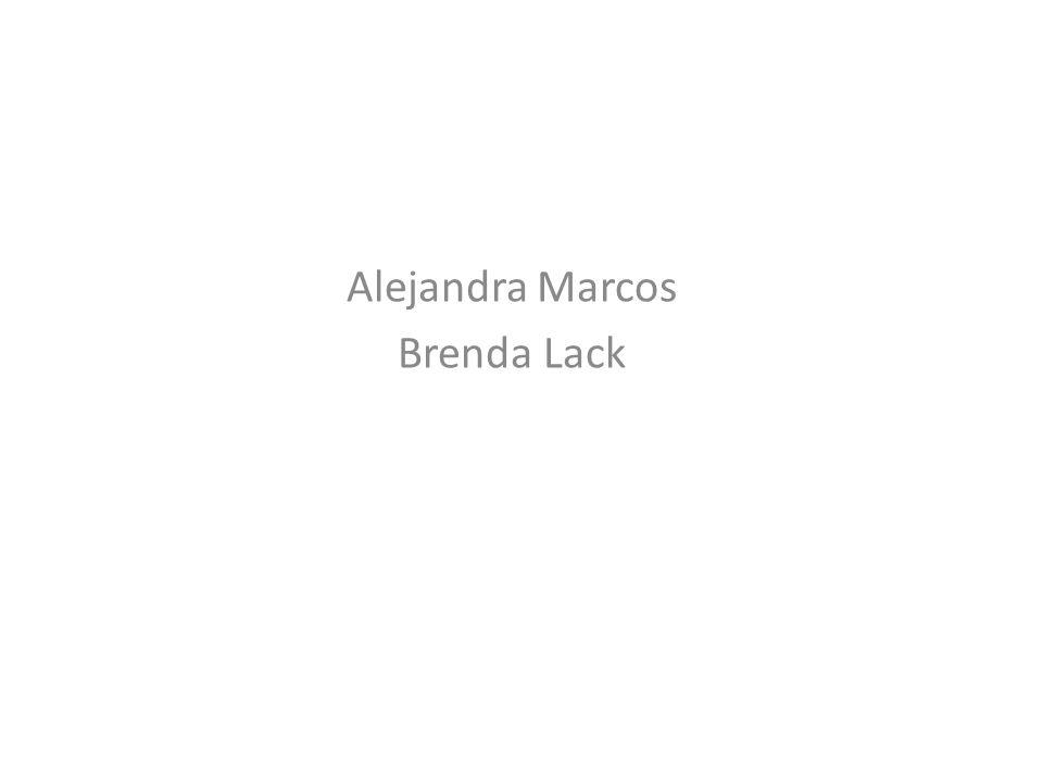 Alejandra Marcos Brenda Lack