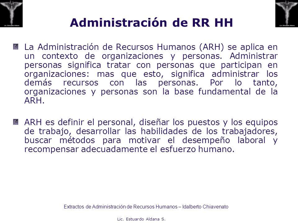 Administración de RR HH